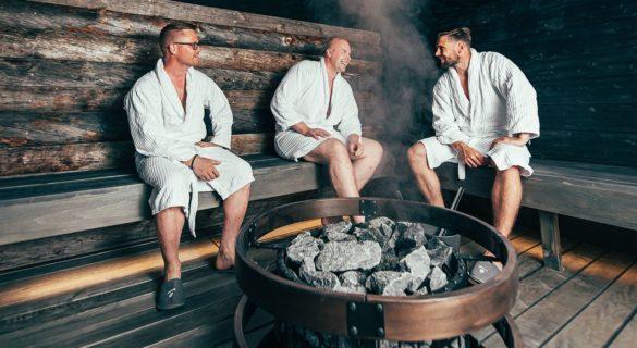 Hotel Sveitsi Seasons sauna